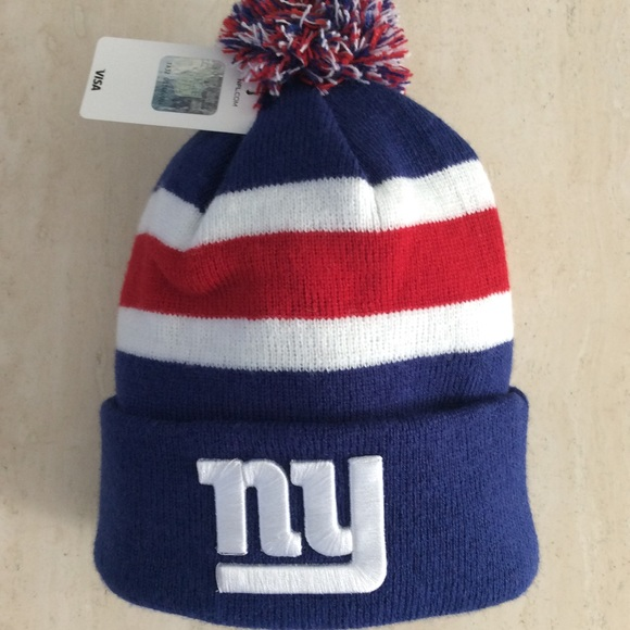 61296a7154c NY GIANTS Knit HAT